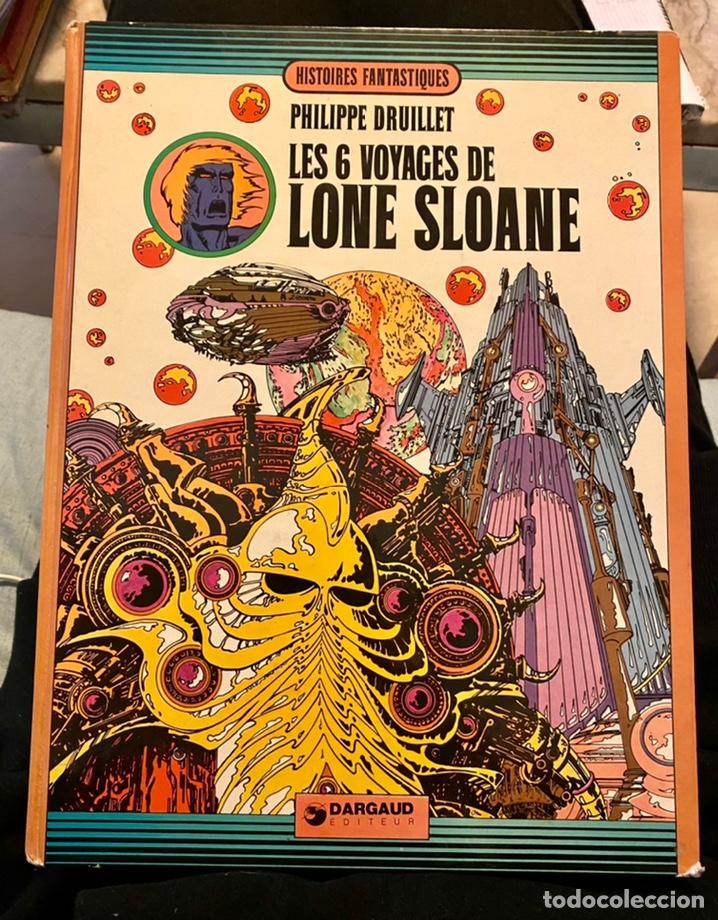 """PHILIPPE BRUILLET """"LES 6 VOYAGES DE LONE SLOANE"""" 1972 (Libros de Segunda Mano - Otros Idiomas)"""