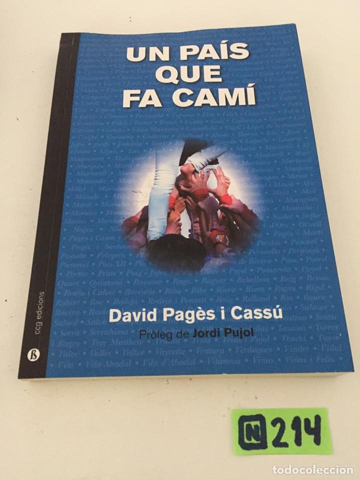 UN PAÍS QUE FA CAMI (Libros de Segunda Mano - Otros Idiomas)
