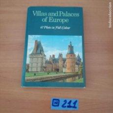 Libros de segunda mano: VILLAS AND PALACES OF EUROPE. Lote 230635115