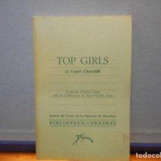 Livros em segunda mão: TOP GIRLS. CARYL CHURCHILL. BIBLIOTECA TEATRAL.. Lote 230665230