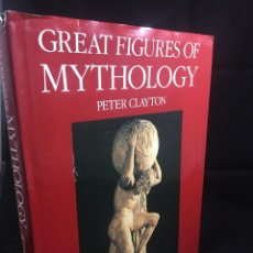 Livres d'occasion: GREAT FIGURES OF MYTHOLOGY BY PETER A. CLAYTON, JOSEPH CAMPBELL. ILUSTRADO, EN INGLÉS.. Lote 232090680