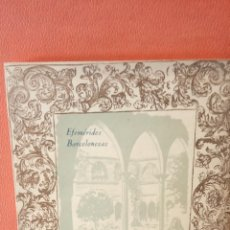 Livros em segunda mão: EL MONASTERIO DE RELIGIOSAS AGUSTINAS DE S.ª MARÍA MAGDALENA. ANTONIO PAULÍ MELÉNDEZ. BARCELONA 1942. Lote 233229390