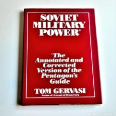 Libri di seconda mano: 1988 LIBRO SOVIET MILITARY POWER - 23 X 31.CM. Lote 233308830