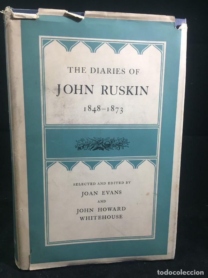 THE DIARIES OF JOHN RUSKIN, VOLUME II: 1848-1873 OXFORD AT THE CLARENDON PRESS, 1958 (Libros de Segunda Mano - Otros Idiomas)