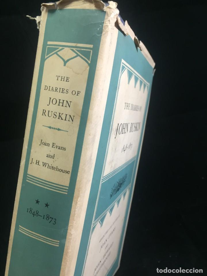 Libros de segunda mano: The Diaries of John Ruskin, Volume II: 1848-1873 Oxford at the Clarendon Press, 1958 - Foto 2 - 233900100
