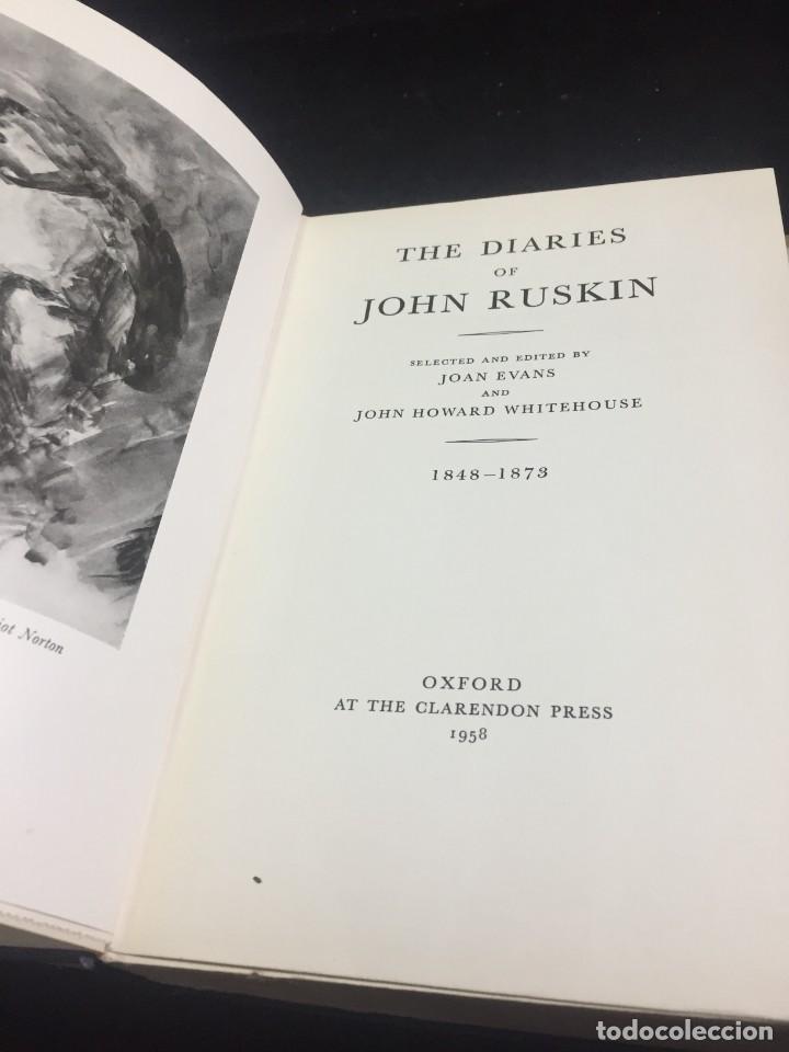 Libros de segunda mano: The Diaries of John Ruskin, Volume II: 1848-1873 Oxford at the Clarendon Press, 1958 - Foto 3 - 233900100