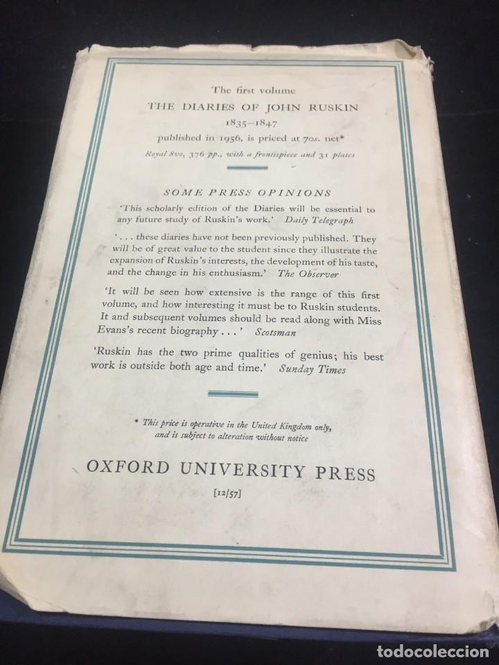 Libros de segunda mano: The Diaries of John Ruskin, Volume II: 1848-1873 Oxford at the Clarendon Press, 1958 - Foto 13 - 233900100