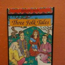 Livros em segunda mão: THREE FOLK TALES. MARGARET NAUDI. COLLINS ENGLISH LIBRARY. Lote 235692420