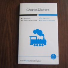 Libros de segunda mano: AUDIOBOOKS. LIBROS BILINGÜES: CHARLES DICKENS. Lote 236082385