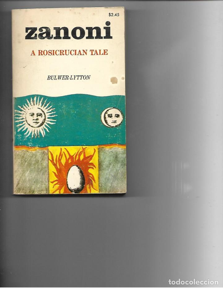 LIBRO 1971 ZANONI A ROSICRUCIAN TALE DE BULWER-LYTTON (Libros de Segunda Mano - Otros Idiomas)