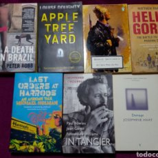 Libros de segunda mano: LOTE DE 7 LIBROS EN INGLES DIFERENTES TITULOS Y AUTORES. Lote 236369125