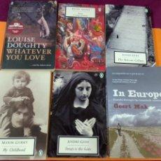 Libros de segunda mano: LOTE DE SEIS LIBROS EN INGLES TITULOS VARIADOS MUY BUEN ESTADO. Lote 236384920