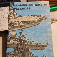 Libros de segunda mano: FOTOGRAFIAS Y CARASTERISTICAS DE PORTAVIONES DE ATAQUES LIGEROS FRANCES. Lote 237747780