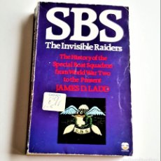 Libros de segunda mano: LIBRO SBS THE INVISIBLE RAIDERS - 11 X 18.CM. Lote 238127050