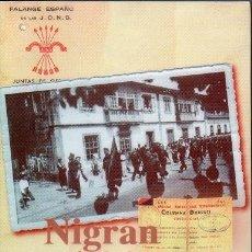 Livros em segunda mão: NIGRAN - MEMORIA DUNHA GUERRA -1936-1939. Lote 238358785