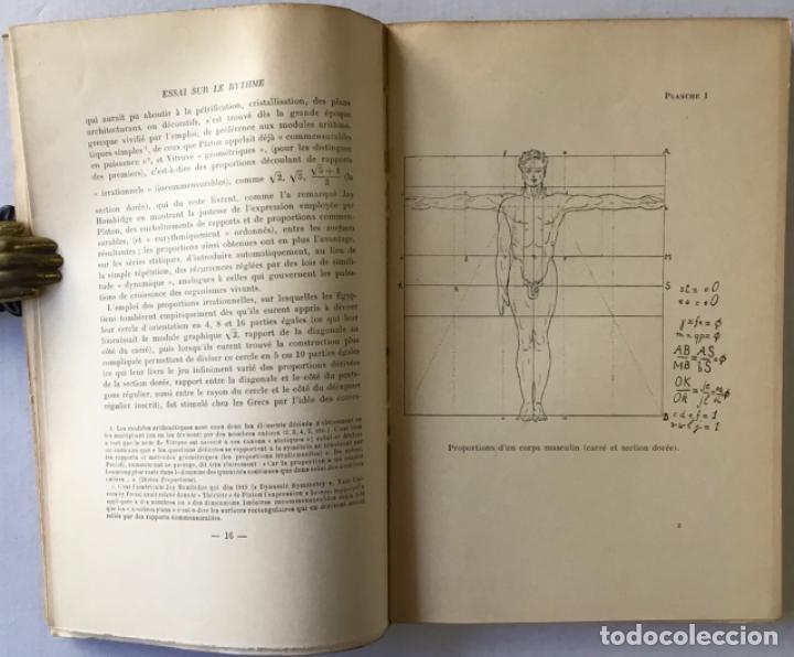 Libros de segunda mano: ESSAI SUR LE RYTHME. - C. GHYKA, Matila. - Foto 2 - 290501218