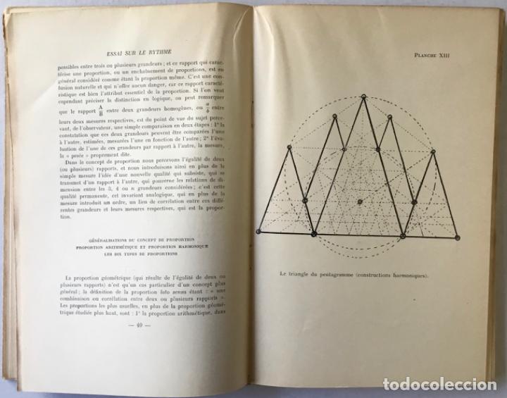 Libros de segunda mano: ESSAI SUR LE RYTHME. - C. GHYKA, Matila. - Foto 3 - 290501218