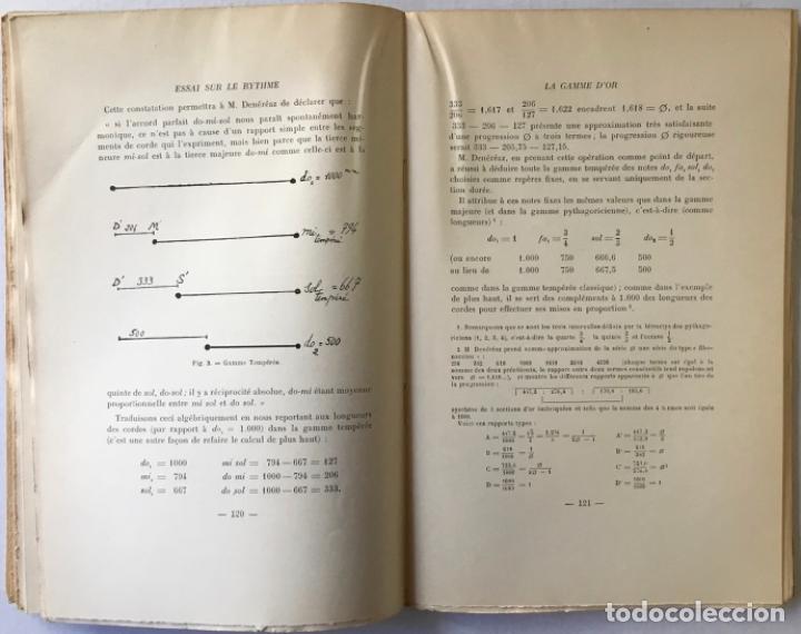 Libros de segunda mano: ESSAI SUR LE RYTHME. - C. GHYKA, Matila. - Foto 6 - 290501218