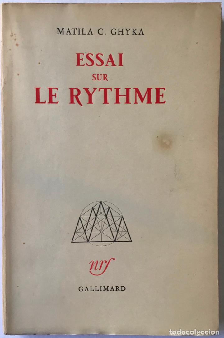 ESSAI SUR LE RYTHME. - C. GHYKA, MATILA. (Libros de Segunda Mano - Otros Idiomas)