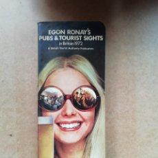 Libros de segunda mano: EGON RONAY'S PUBS & TOURIST SIGHTS. Lote 239830555