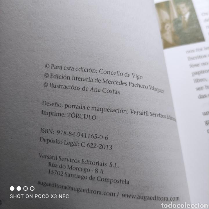 Libros de segunda mano: Cantares gallegos, Rosalía de Castro. 150 aniversario da primeira edición en Vigo - Foto 3 - 242374680