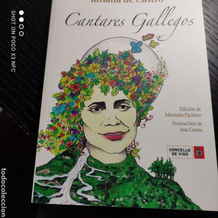 CANTARES GALLEGOS, ROSALÍA DE CASTRO. 150 ANIVERSARIO DA PRIMEIRA EDICIÓN EN VIGO (Libros de Segunda Mano - Otros Idiomas)