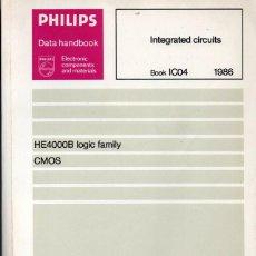 Libros de segunda mano: PHILLIPS. INTEGRATED CIRCUITS. 1986. EN INGLÉS.. Lote 243058365