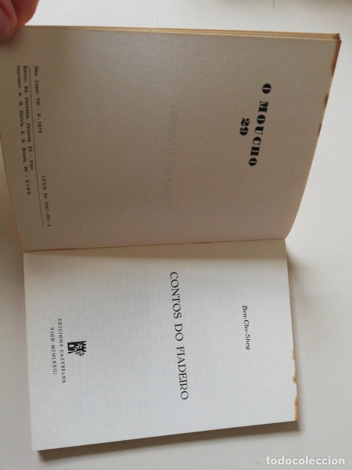 Libros de segunda mano: Contos do fiadeiro. Ben-Cho-Sey. 1973 - Foto 3 - 243400675