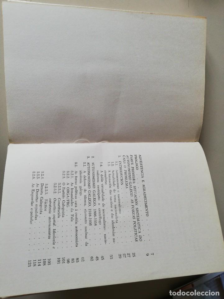 Libros de segunda mano: O Estatuto Galego. Xosé Vilas Nogueira. 1975 - Foto 5 - 243401200