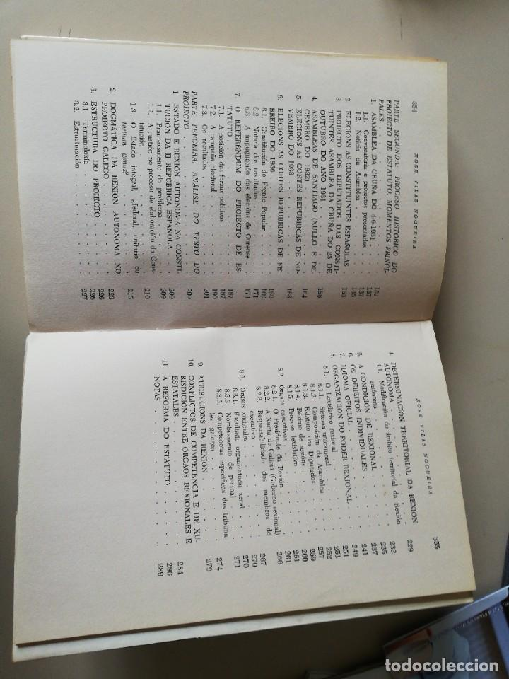 Libros de segunda mano: O Estatuto Galego. Xosé Vilas Nogueira. 1975 - Foto 6 - 243401200