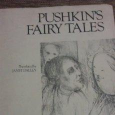 Libros de segunda mano: PUSHKINS FAIRY TALES. Lote 243612995