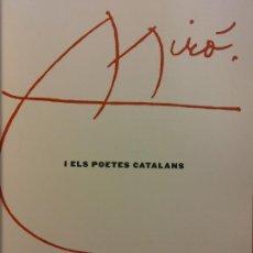 Second hand books: MIRÓ I ELS POETES CATALANS. VICENÇ ALTAIÓ. ENCICLOPÈDIA CATALANA. UNA VERDADERA OBRA DE ARTE. VER FO. Lote 243845075