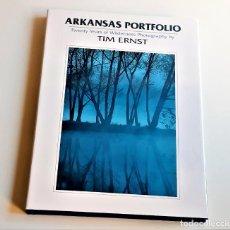 Livros em segunda mão: 1994 LIBRO ARKANSAS PORTFOLIO - TIM ERNST - 24 X 32.CM. Lote 243873335