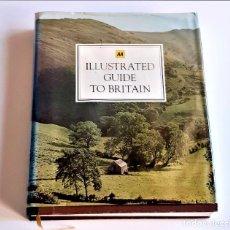 Libros de segunda mano: 1977 LIBRO ILLUSTRATED GUIDE TO BRITAIN - 22 X 27.CM. Lote 243884850
