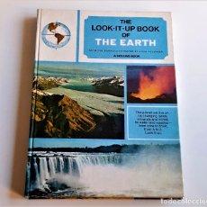 Livros em segunda mão: 1971 LIBRO THE LOOK-IT-UP BOOK OF THE EARTH - 21 X 29.CM. Lote 243889440