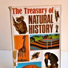 Libros de segunda mano: 1973 LIBRO THE TREASURY OF NATURAL HISTORY - 19 X 26.CM. Lote 243908410