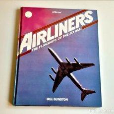 Libros de segunda mano: 1981 LIBRO AIRLINERS - 25 X 31.CM. Lote 243911180