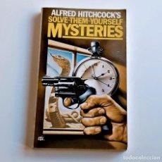 Livros em segunda mão: 1963 LIBRO ALFRED HITCHCOCKS - MYSTERIES - 11 X 18.CM. Lote 243912375