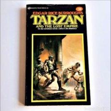 Livros em segunda mão: 1981 TARZAN - EDGAR RICE - 11 X 18.CM. Lote 243914070