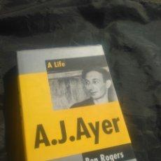 Libros de segunda mano: A LIFE. A. J. AYER. BEN ROGERS. EN INGLÉS.. Lote 243968130