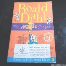 Libros de segunda mano: (L4) THE MAGIC FINGER - ROALD DAHL. Lote 244016240