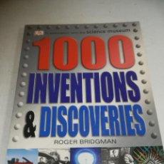 Libros de segunda mano: 1000 INVENTIONS & DISCOVERIES. ROGER BRIDGMAN. ED A DORLING KINDERSLEY BOOK. 256 PAG. EN INGLES. Lote 244414765