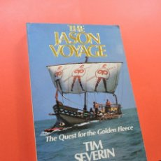 Libros de segunda mano: THE JASON VOYAGE THE QUEST FOR THE GOLDEN FLEECE. SEVERIN, TIM. ARROW BOOKS. Lote 244514530