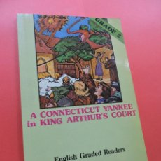 Libros de segunda mano: A CONNECTICUT YANKEE IN KING ARTHUR'S COURT. ENGLISH GRADE 2. TWAIN, MARK. ALHAMBRA. Lote 244517420