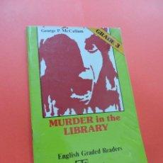 Libros de segunda mano: MURDER IN THE LIBRARY. ENGLISH GRADE 3. MCCALLUM, GEORGE. ALHAMBRA. Lote 244518915