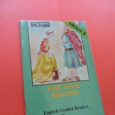 Libros de segunda mano: THE FIVE SKEINS. ENGLISH GRADE 2. ALHAMBRA. Lote 244522050