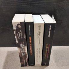 Libros de segunda mano: LITERATURA...4 LIBROS EN IDIOMA FRANCÉS.... Lote 244874510