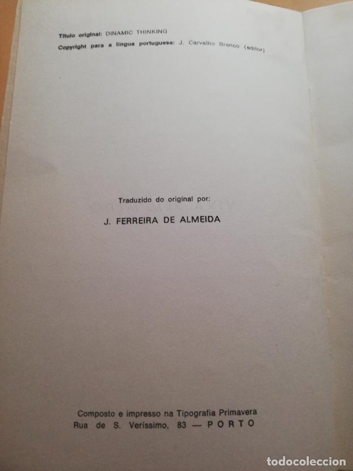 Libros de segunda mano: VIVA SEM MEDO. MALVIN POWERS. ( AUTODOMINIO E AUTOCONFIANCA ). BRASILIA EDITORA PORTO. PAG. 145. - Foto 3 - 245364960