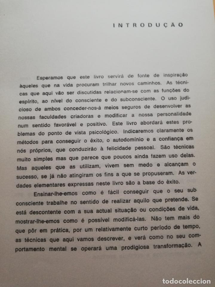 Libros de segunda mano: VIVA SEM MEDO. MALVIN POWERS. ( AUTODOMINIO E AUTOCONFIANCA ). BRASILIA EDITORA PORTO. PAG. 145. - Foto 5 - 245364960
