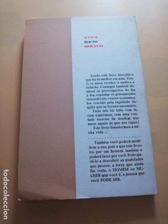 Libros de segunda mano: VIVA SEM MEDO. MALVIN POWERS. ( AUTODOMINIO E AUTOCONFIANCA ). BRASILIA EDITORA PORTO. PAG. 145. - Foto 6 - 245364960